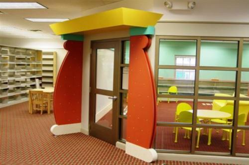 Custom Classroom Entrance Arch