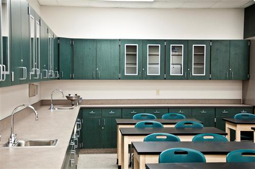 Science Classroom Casework at Virginia Beach Middle School