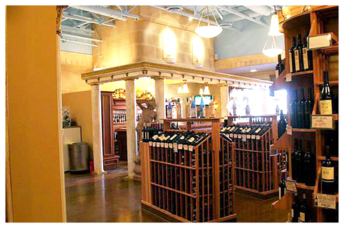 Sonoma Wine Bar & Bistro Custom Store Fixtures