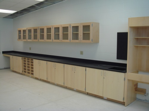 Science Lab Cabinets at Great Neck Middle School